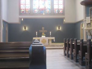 A magyar stuttgarti istentiszteletek helyszíne: Lutherkirche Bad Cannstatt